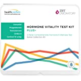 HealthConfirm Hormone Vitality Test Plus, Saliva Collection (5 Hormones Tested)