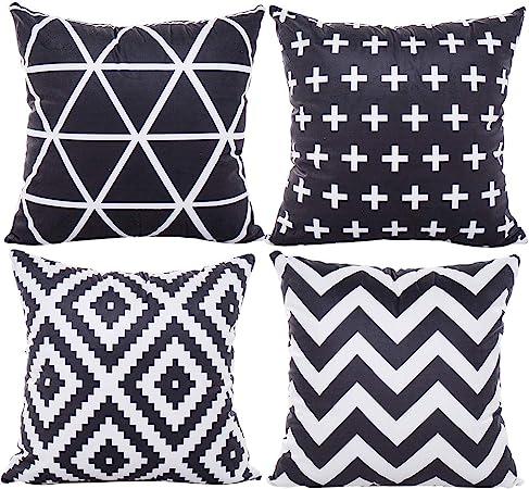 JOTOM Cushion Cover Waist Pillow Case