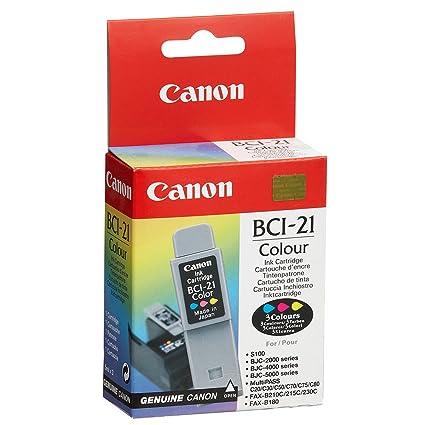 Canon Cartridge BCI-21 3-Color Cartucho de Tinta - Cartucho de ...