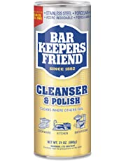 Bar Keepers Friend 11514 Cleanser and Polish Powder 21-Ounce, gold