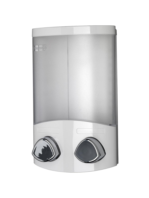 Croydex Euro Soap Dispenser Duo White PA660622