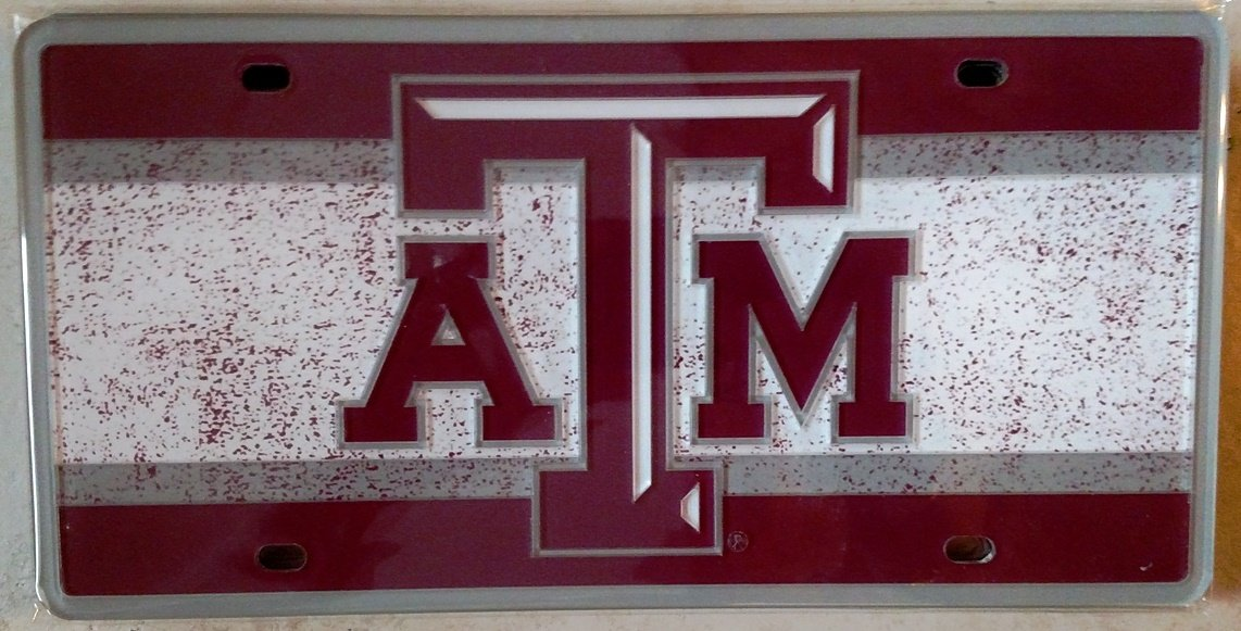 Wincraft Texas A/&M University S69393 Specialty Acrylic License Plate