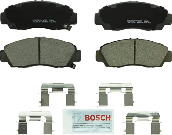Bosch Brake Pads Set Rear Fits Honda Accord Mk7 2.2 CTDI UK Bosch Stockist #2