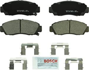 Bosch BC787 QuietCast Premium Ceramic Disc Brake Pad Set For: Acura CL, RL, TL, TSX; Honda Accord, Front