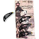 Tacticlip - 4 Pack - Tactical Hair Clips, Multitool Snap Barrettes - Multi-Functional Keychain Metal Multi Tool - Box…