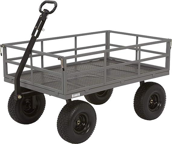 Bannon Industrial-Grade Steel Garden Wagon - 1