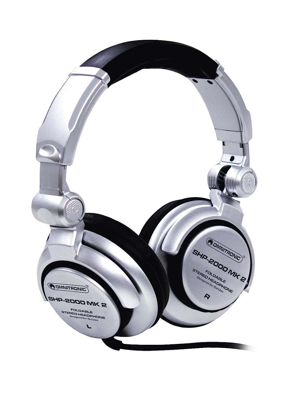 Auriculares cerrados para DJ SCRETCH, dinámico, plateado - Cascos ...
