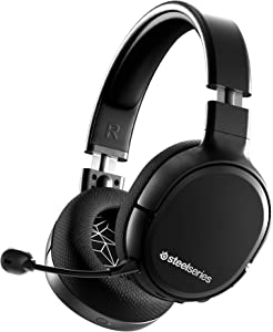 SteelSeries Arctis 1 Wireless Gaming Headset – USB-C – Detachable Clearcast Microphone – for PC, PS4, Nintendo Switch and Lite, Android – Black
