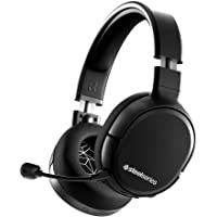SteelSeries Arctis 1 Wireless Gaming Headset – USB-C – Detachable Clearcast Microphone – for PC, PS4, Nintendo Switch…