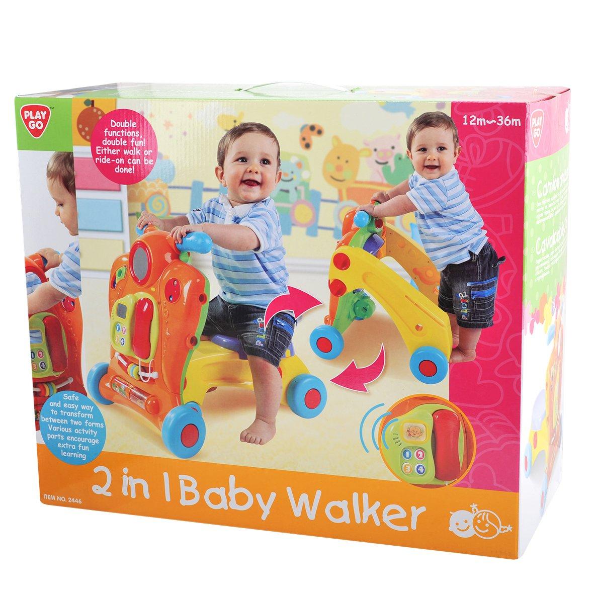 Andador 2 en 1: Amazon.es: Bebé