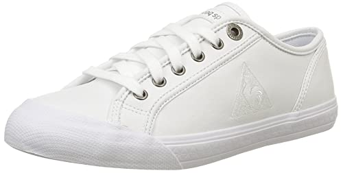 Le Coq Sportif Deauville Plus, Zapatillas Unisex Adulto, Blanc (Optical White), 43 EU: Amazon.es: Zapatos y complementos