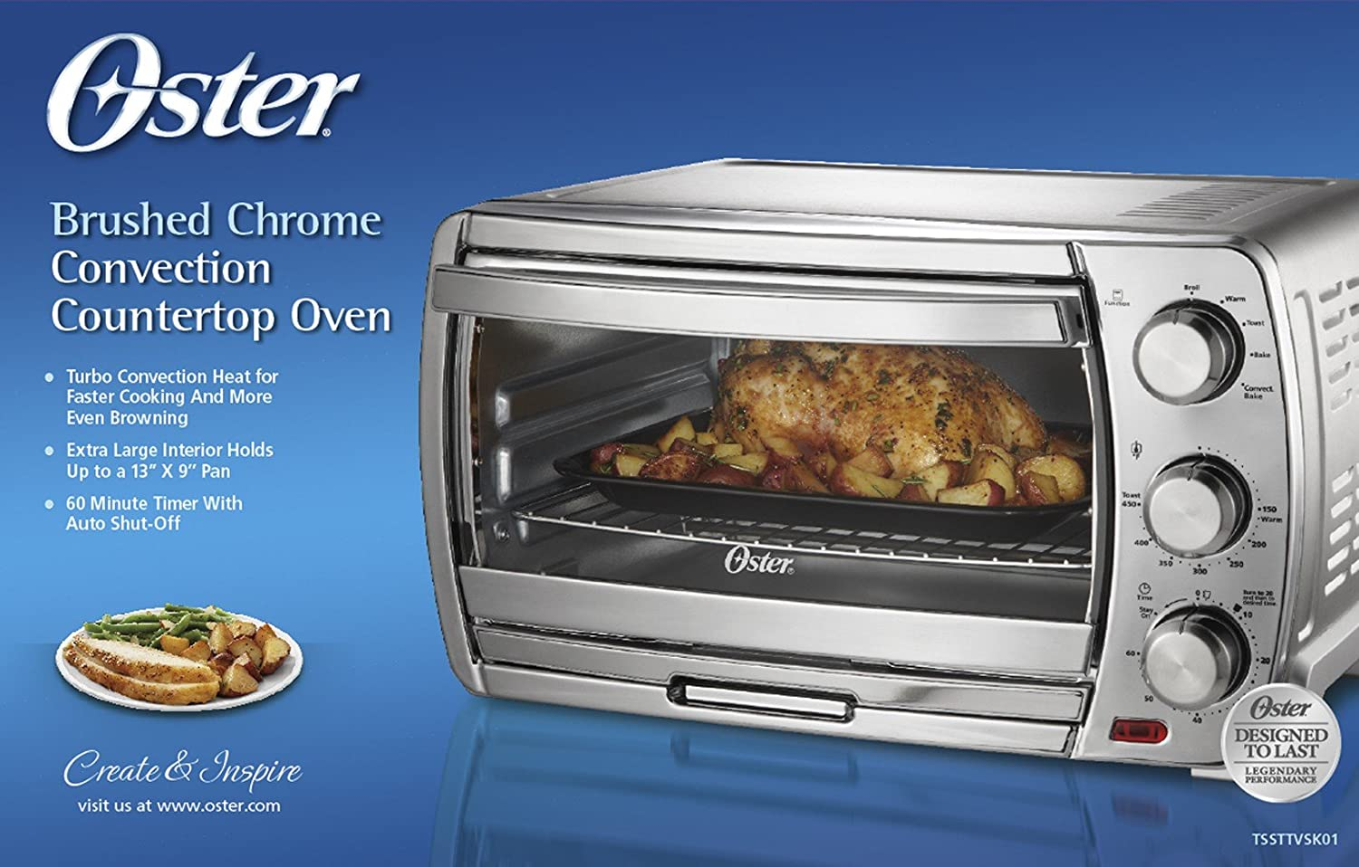youtube oster convection oven countertop watch large extra review countertops xl