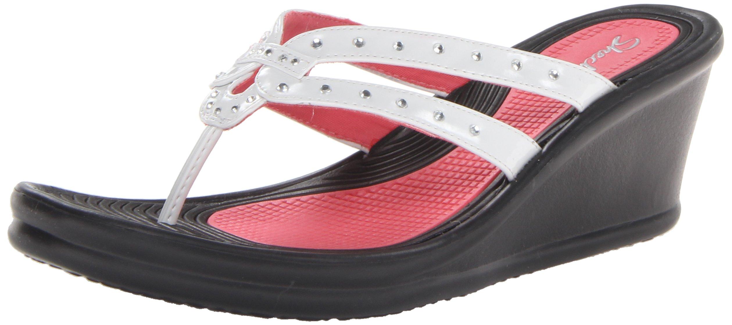 Skechers Cali Women's Rumblers-Lotus Flower Wedge Sandal