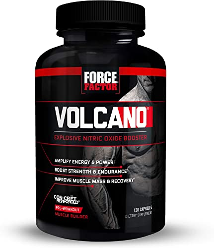 Volcano Pre-Workout Nitric Oxide Booster