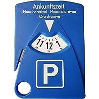 HP-Autozubehör 19943 parkeerschijf met 4 functies - parkeerschijf incl. gordelmeter, parkeerkaarthouder en…