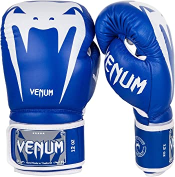 Venum Boxing Gloves Giant 3.0 Nappa Leather Black Black Sparring Training Gloves