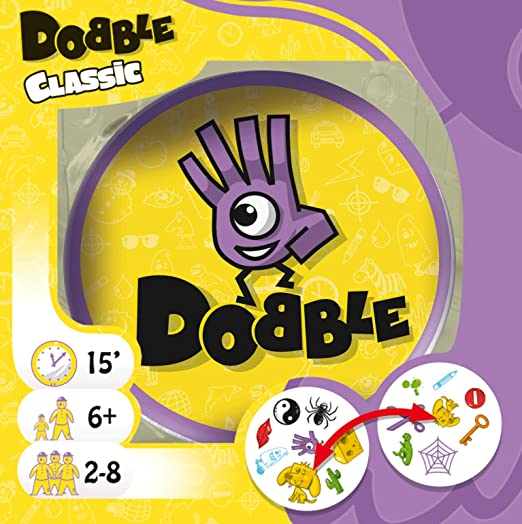 Dobble Jeu de carte-Drôle de famille jeu de carte Party Crazy Visual jeu jeu de carte UK