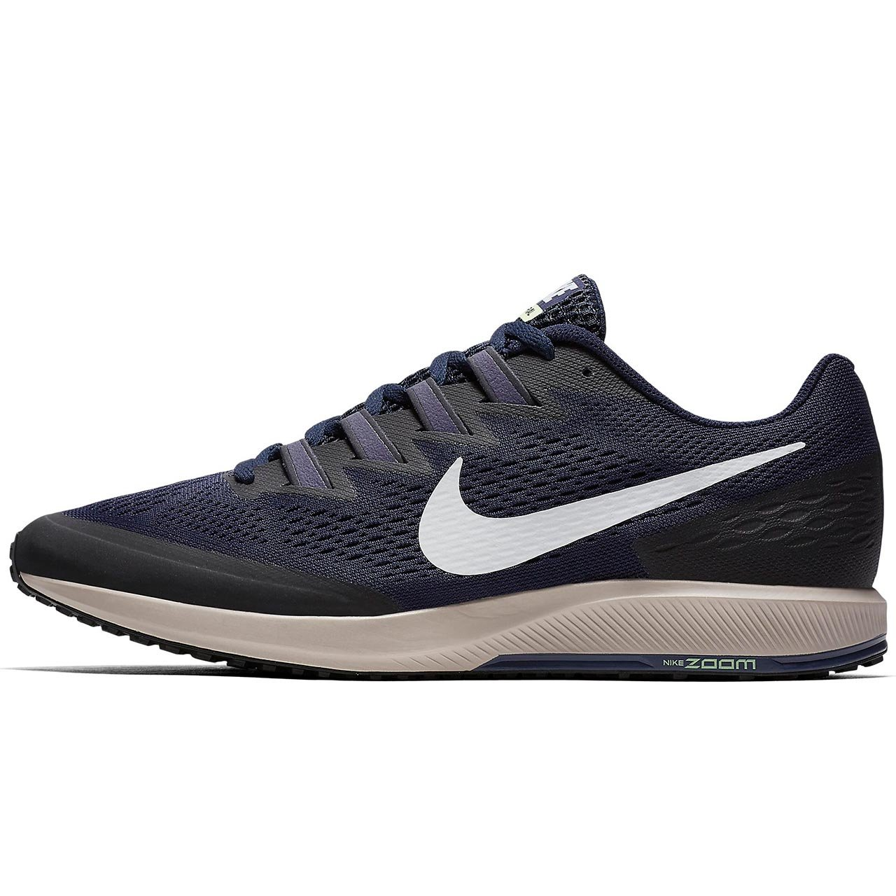 2794916f06421 Amazon.com | Nike Men's Air Zoom Speed Rival 6, Obsidian/White-Volt ...