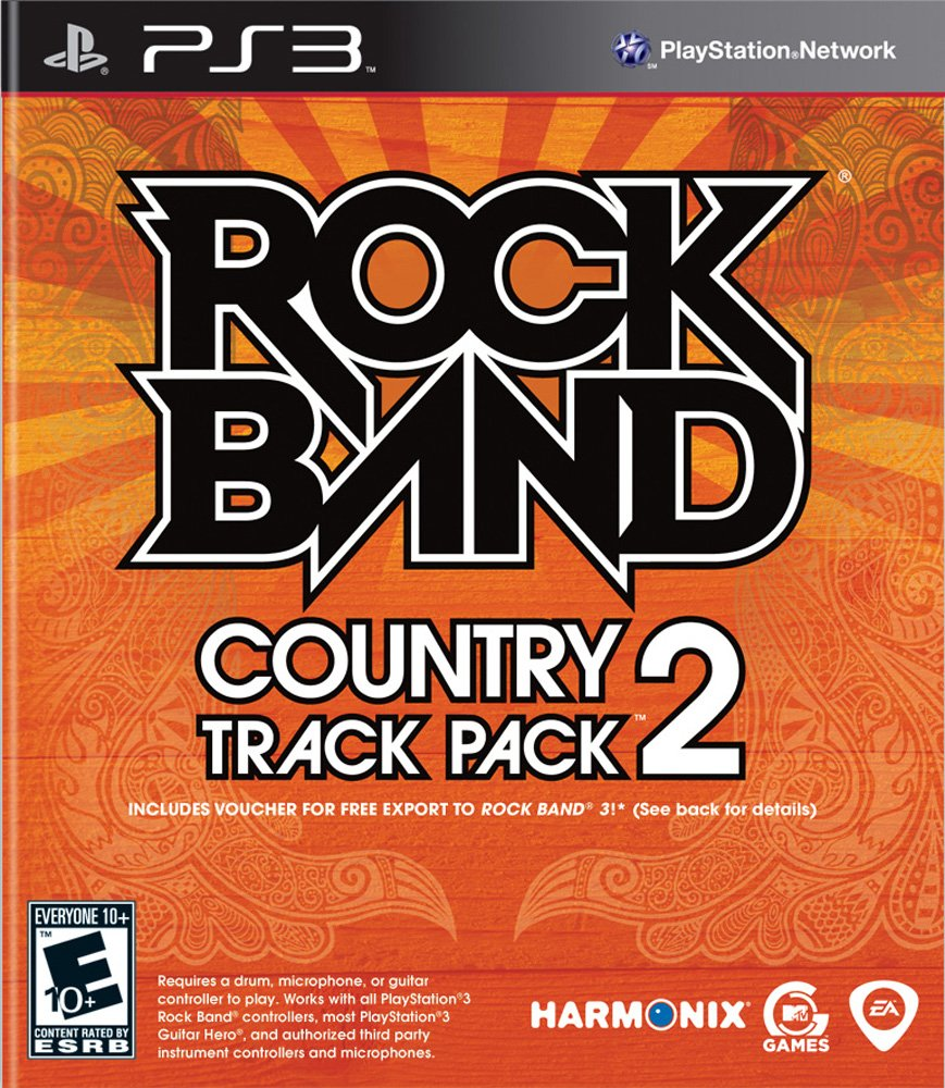 Rock Band Country Track Pack 2 - Playstation 3