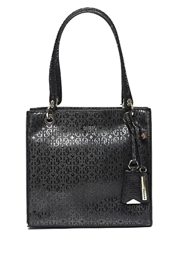 f6fbbfc8251 Guess Shopper Bag for Women, Black - GS669122-BLA: Amazon.co.uk ...