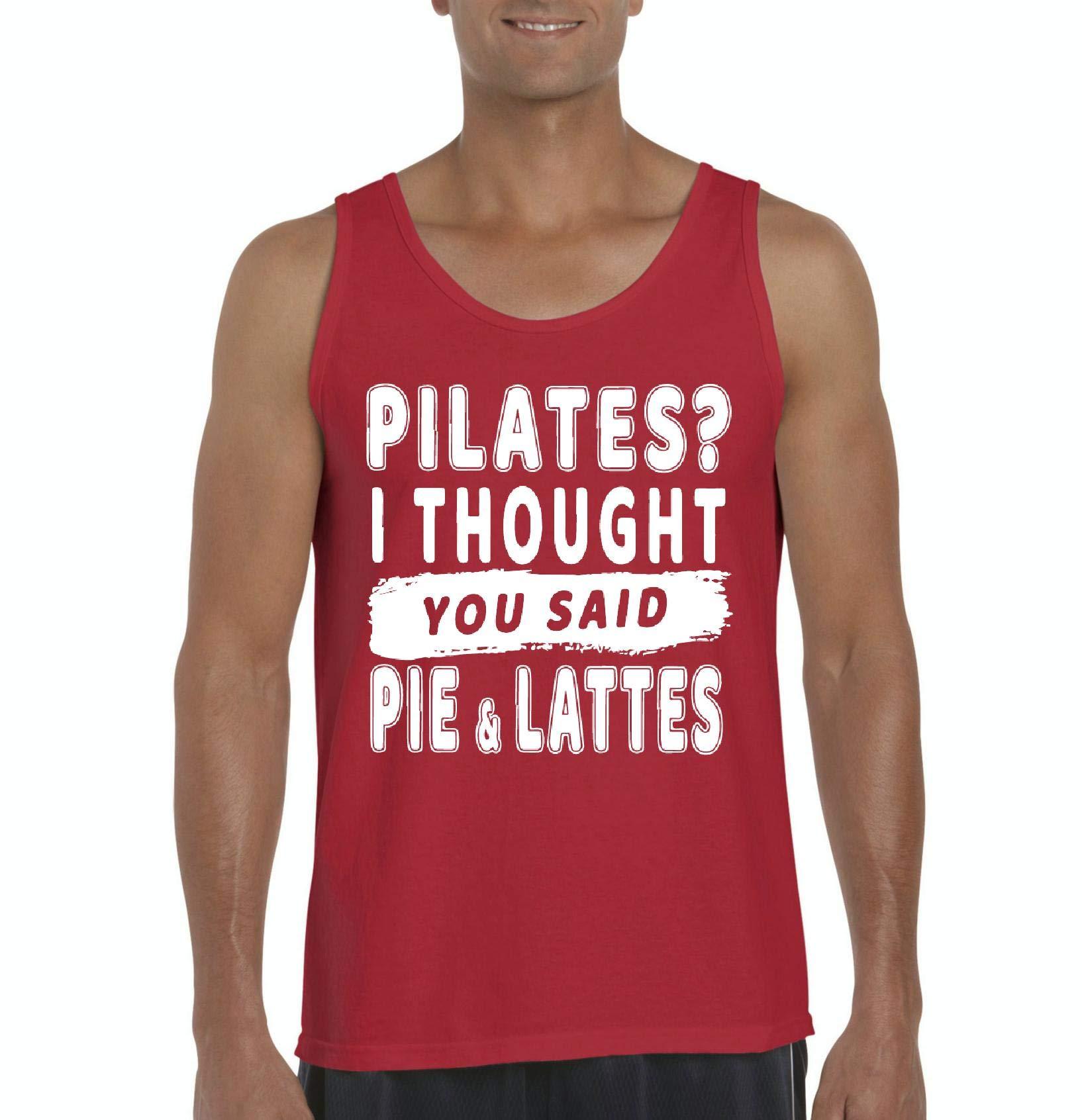 Nib Pilates I Thought You Said Pie Lattes Ultra Tank Top 8601 Shirts