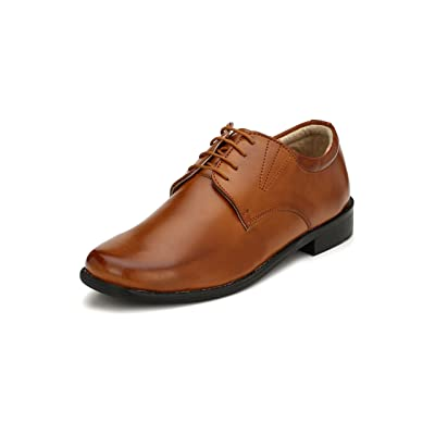 Eego Italy Black Stylish Men's Formal Shoes | Oxfords