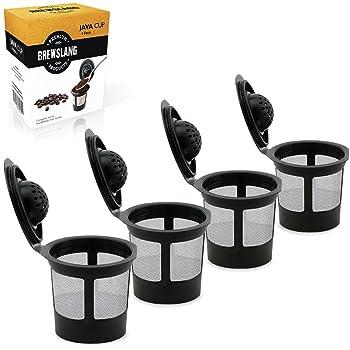 Brewslang 4 packs Reusable K-Cup
