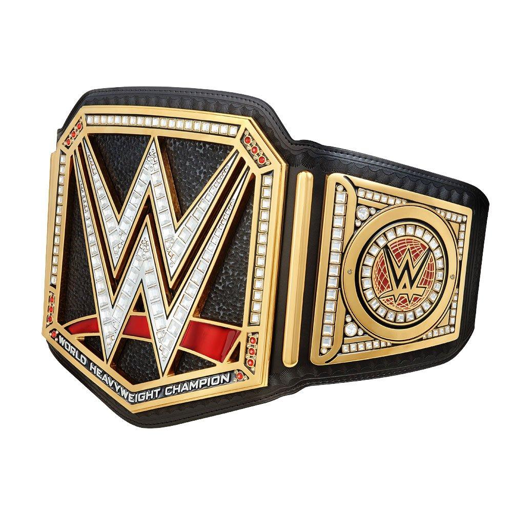 WWE Authentic Wear Unisex WWE World Heavyweight Championship Commemorative Title Belt (2014), Multicoloured, One size by WWE AUTHENTIC WEAR