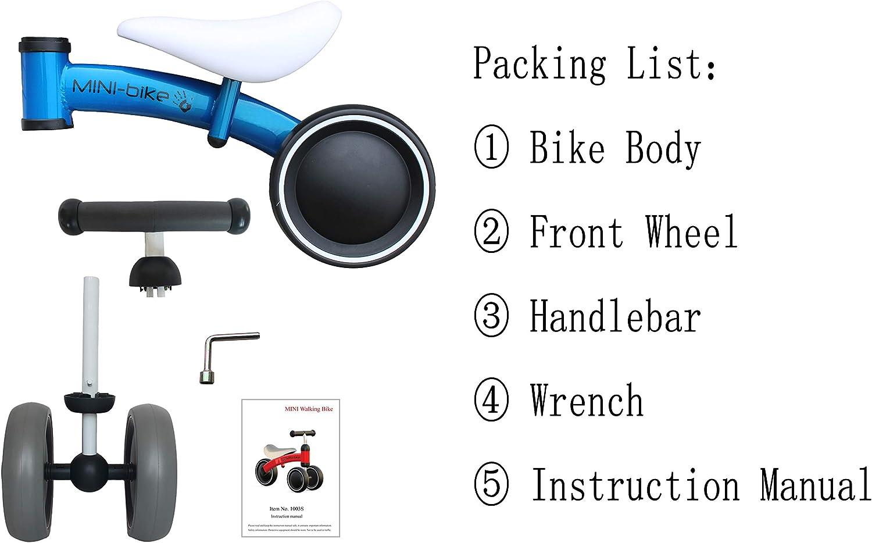 Amazon.com: Luddy - Bicicleta de equilibrio para bebé, para ...