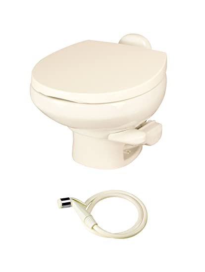 Amazon.com: Aqua Magic Style II RV Toilet with Water Saver / Low ...