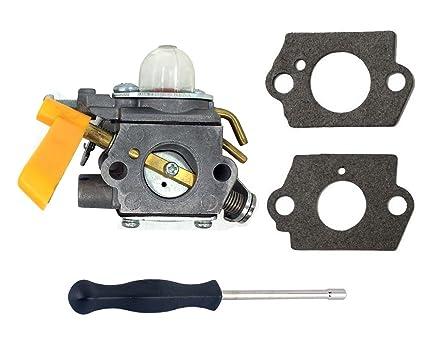 hooai nuevo w/herramienta de ajuste para carburador & Juntas ...