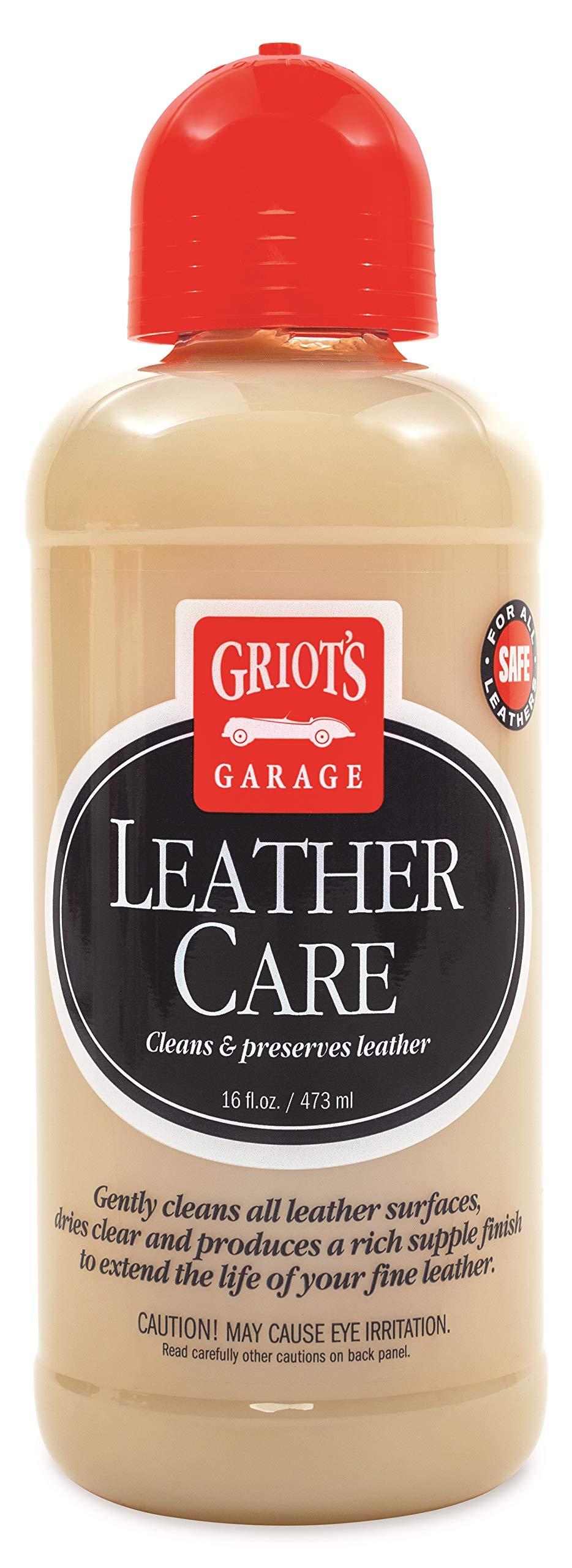 Griot's Garage 11142 Leather Care 16oz