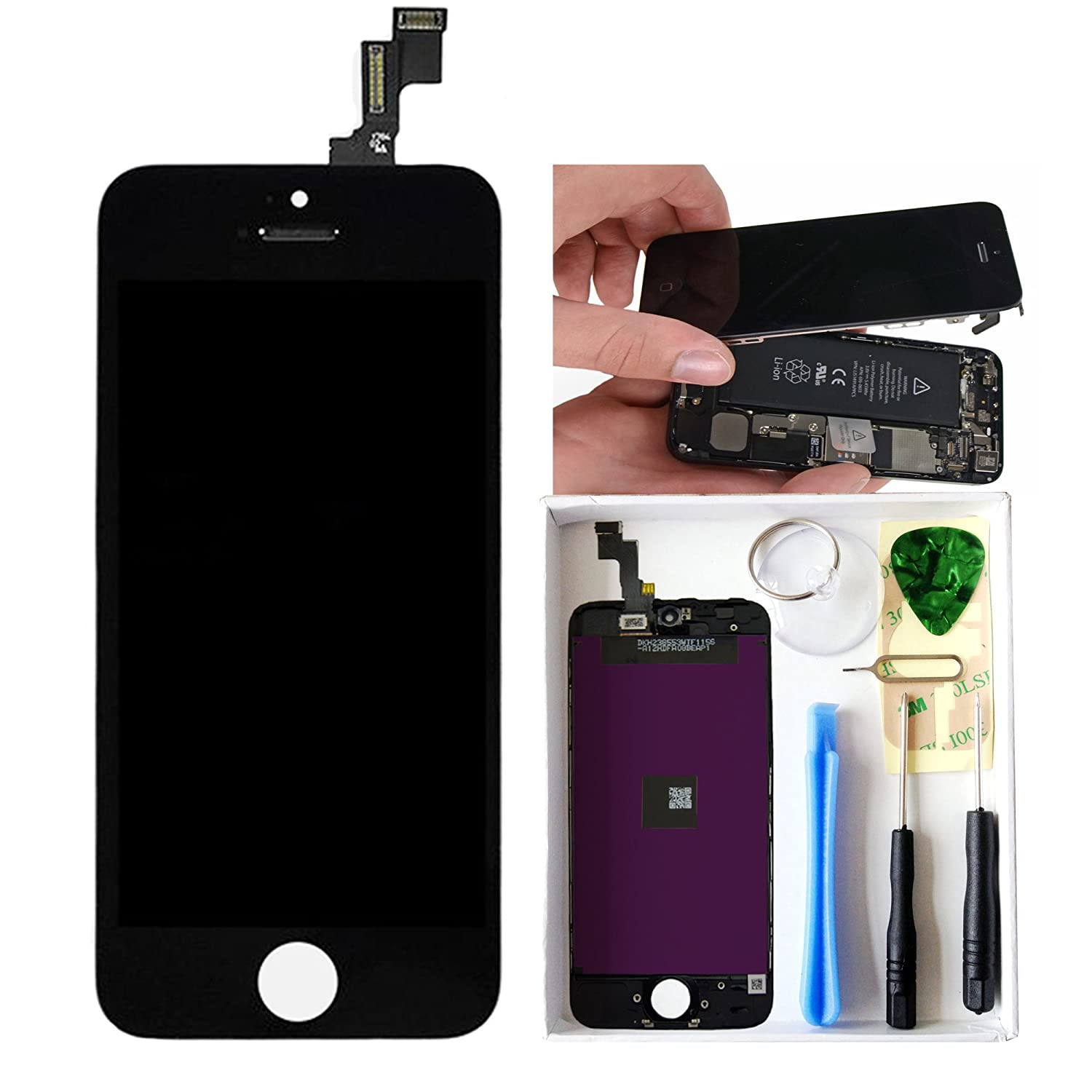 iphone 5c lcd screen replacement lcd screen and digitizer for iphone 5c 7 14673