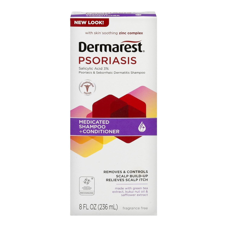 Dermarest Psoriasis Medicated Shampoo Plus Conditioner-8, oz. Medtech 363736730208
