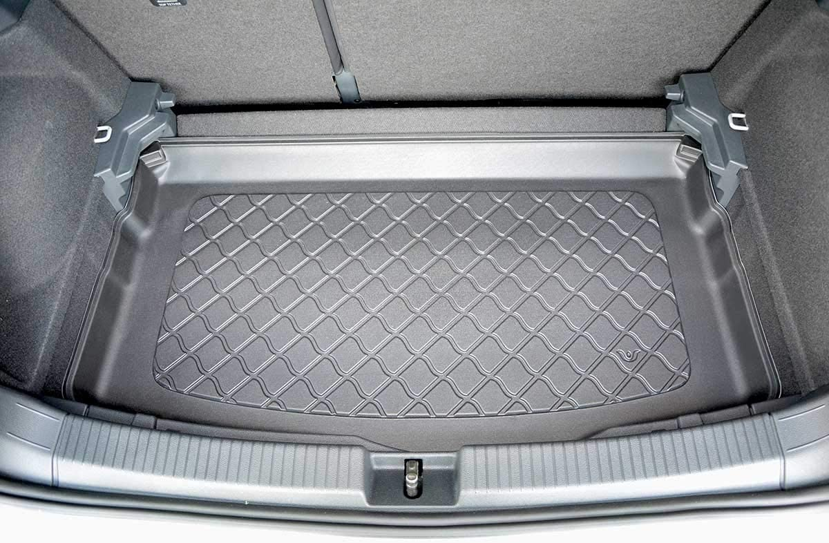 MTM Boot Liner T-Cross 2019- Tailored Trunk Mat with Antislip cod 8382 additional description: lower boot; adjustable boot floor in the lowest position