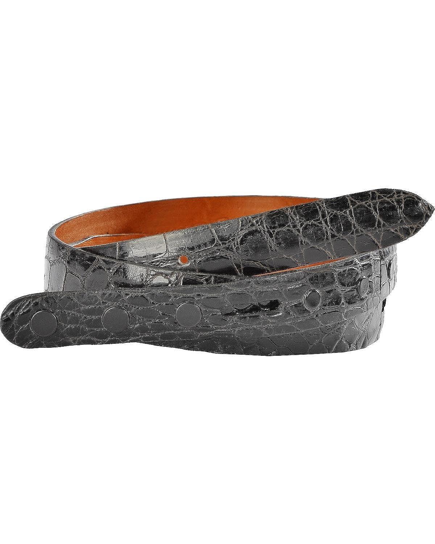 Lucchese Mens Alligator Leather Belt