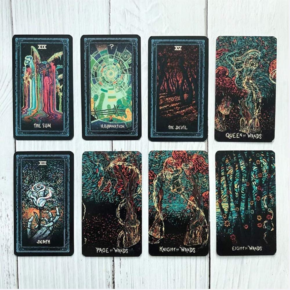 Hootiny TarotCards Prism Vision Tarot Classic Divination Card Adult Game, Fun Bar Party Family Card Game by Hootiny (Image #4)