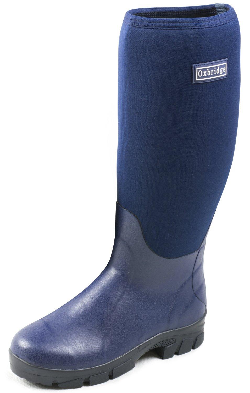 Oxbridge - Gummistiefel aus Neopren - wasserdicht - dunkelblau - Größen 37 - 47