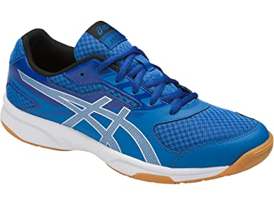 427f2c4c9 Asics Men s Gel-Upcourt 2 Non Marking Badminton Shoes - Classic Blue Silver  Asics Blue - 10 US  Buy Online at Low Prices in India - Amazon.in