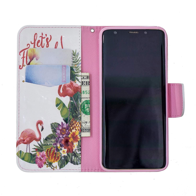 NEBFE13461#4 Handyh/ülle Tasche Leder Flip Case Brieftasche Etui mit Kartenfach Sto/ßfest Kratzfest Schutzh/ülle f/ür Samsung Galaxy S9 NEXCURIO Samsung Galaxy S9 H/ülle Leder