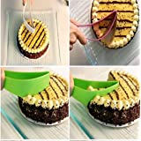 3pcs New Cake Pie Slicer Sheet Guide Cutter Server Bread Slice Knife Kitchen Gadget