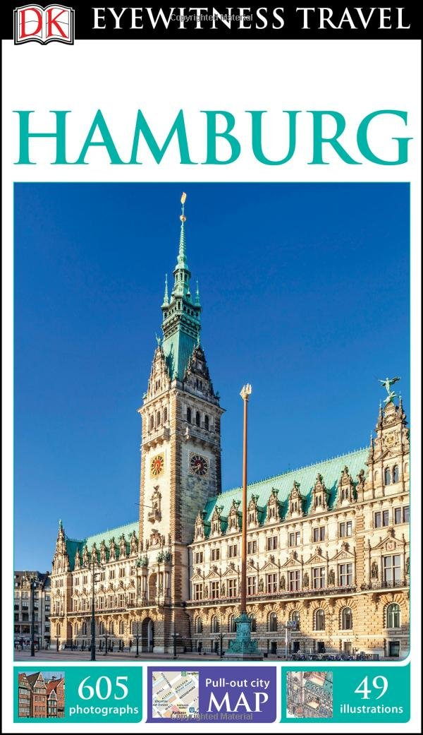 DK Eyewitness Travel Guide Hamburg product image