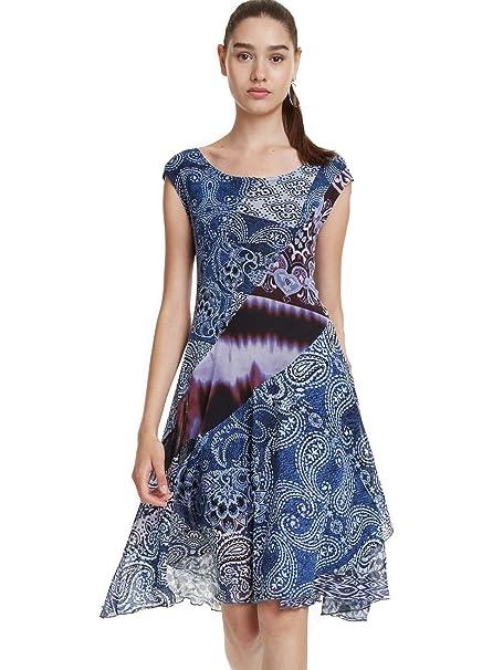 besserer Preis klar und unverwechselbar 60% günstig Desigual Dress Rasha at Amazon Women's Clothing store