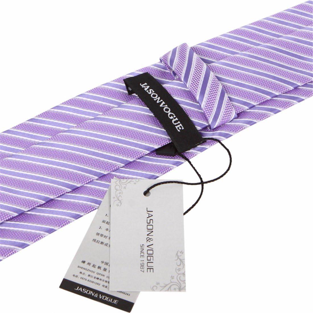 8cm lavanda Violeta vino rojo rayas Lunares borgoña corbata ...