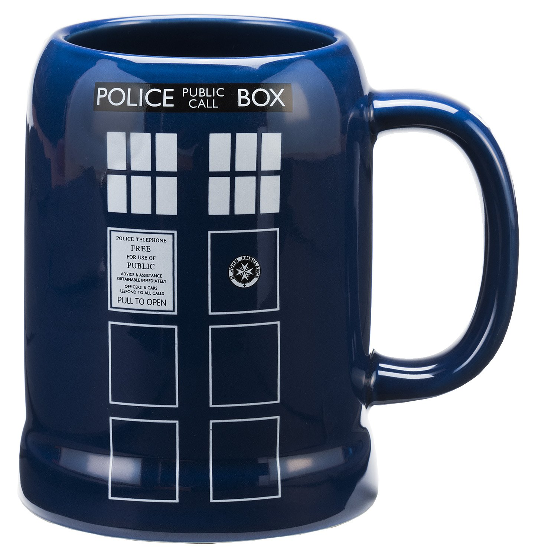 Doctor Who 20 Oz. Ceramic Stein Vandor 16079 Accessory Consumer Accessories