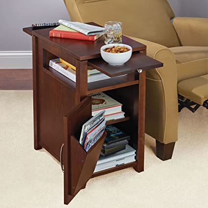 Amazon Com The Easy Access Recliner Side Table Kitchen Dining