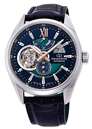 65d6c9c8464 ORIENT STAR Limited Edition Semi Skeleton Mechanical Sapphire Dress Watch  DK0002L