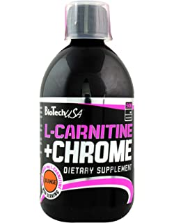 Biotech USA Chrome Concentrate L y Carnitine Sabor Naranja - 450 gr