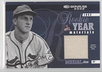 Stan Musial 3050 Baseball Card 2002 Donruss Rookie Year