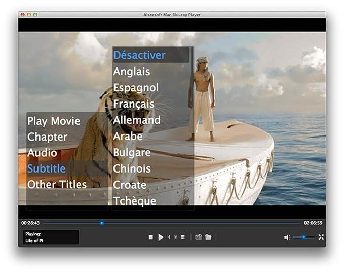 Amazon com: Aiseesoft Mac Blu-ray Player [Download]: Software